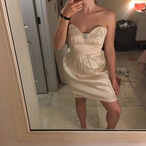 Laundry Nude Strapless Dress